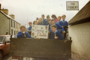 March 1993 Twins in the St Patricks Day Parade Breens, Curtains, Brownes .Sullivans,