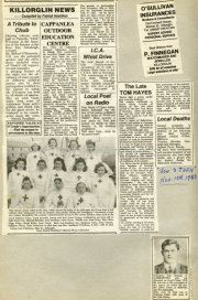 Killorglin News 1983
