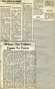 When The Talkies Came To Town
