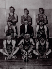 Billy Doyle, Tom Curtain, Patsy Joy, Stephen Doc Corckery Bobby O'Reilly,Declan Mangan, David Power, Tony Lyons, Paudric Carrol. Sport Ref: S023