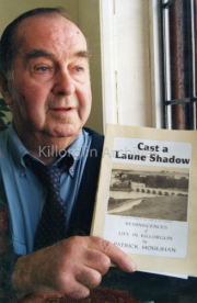 """September 1997 Patrick Houlihan at the launch of his book """"Cast a Laune Shaddow"""".jpg"""