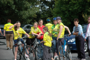 Killorglin Cycling Club at St Josephs Home, Killorglin