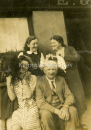 1940 Cait Foley, Nell Shea, Mary Foley, Daniel O'Regan all from the lower part of the town.jpg
