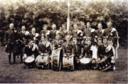 1954 Laune Pipers Band