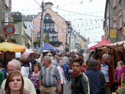 Crowds Enjoy The Stalls On The Second Day Of Puck Fair