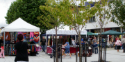 Stalls In Library Place At Puck Fair
