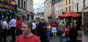 Crowds In Upper Bridge Street at Puck Fair
