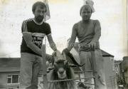 1984 John & Terence Houlihan with King Puck.jpg