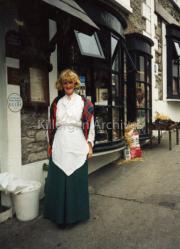 Anne Foley outside Nicks, Killorglin.