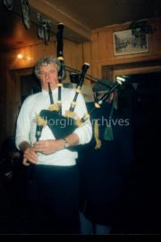 Bagpipes In O Neill's Bar,Langford Street,Killorglin,