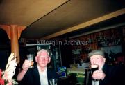 John Horgan & John Pickett enjoying a drink in O'Neills Bar Mid 80's