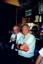pete Morriss, Glencarr and Alec Christen,Killorglin, In O Neill's Bar, Langford Street, Killorglin.