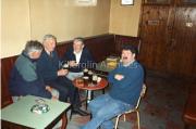 Jack Walsh,Christy Mc Gillycuddy, Dave Barry & Frank Mc Gillycuddy late '80 Paud'O Neills Lounge