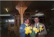 Doc Corcorkery and Thade Brosnan in Paud O'Neill Bar In early 1990