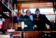 Denis McKenna & Joe Sheehan enjoying a pint at Cyril Neills Bar.