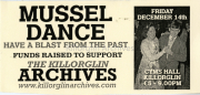 Friday December 14th 2012, Mussel Dance Ticket For Killorglin Archives