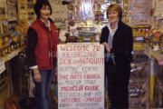 Eilish O'Sullivan & Francis O'Toole from Muckross House catalogue all items in Patrick Houlihans Museum.jpg