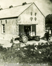 Milk Being Delivered To The Creamery