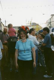 Annette Lynch at Puck Fair
