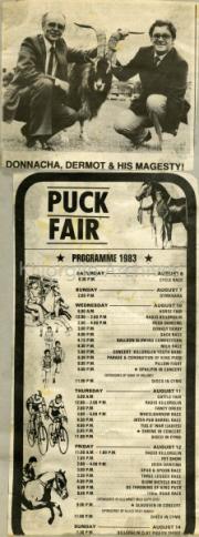 Puck Fair Programme 1983