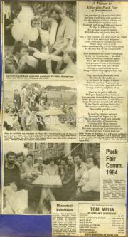A Tribute To Killorglin Puck Fair, Puck Fair Committee 1984, Historical Exhibition