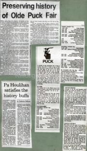 Preserving History Of Olde Puck Fair, Pa Houlihan Satisfies The History Buffs, Puck