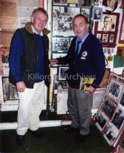 John Mulvihill and Patrick Houlihan in Patricks Museum.