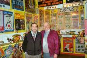 Patrick Houlihan & Martin Walsh of the John Duffy Circus Band in Patricks Basement Museum.jpg