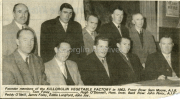 Founder Members of the Killorglin Vegetable Factory. FR. Sam Moore, AIB. ?, Tom Foley, ?, Hugh O'Donnell, Hort. Instr. BR. John Perry, AIB. Paddy O'Neill, James Foley, Eddie Langford, John Joy