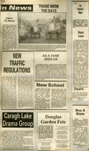 Those Were The Days, New Traffic Regulations, Caragh Lake Drama Group