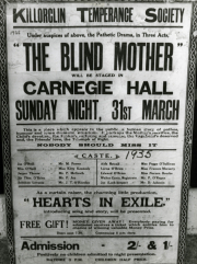 "1935 Killorglin Temperance Society poster for ""The Blind Mother"" .jpg"