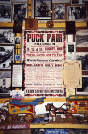 1935 Puck Fair Poster with the Ballard of the Basement and Poem .jpg