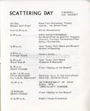 Tuesday 14th August Scattering Day List Of Events