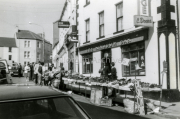 Traders Outside The Kingdom Bar Main Street