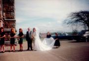 Wedding at St. James Church.