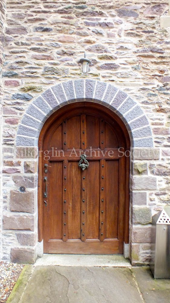 This arched doorway shows the attention to detail in Ard Na Sidhe