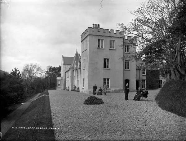 The Great Southern Hotel, Caragh Lake which was sadly demolished in the mid 1950's