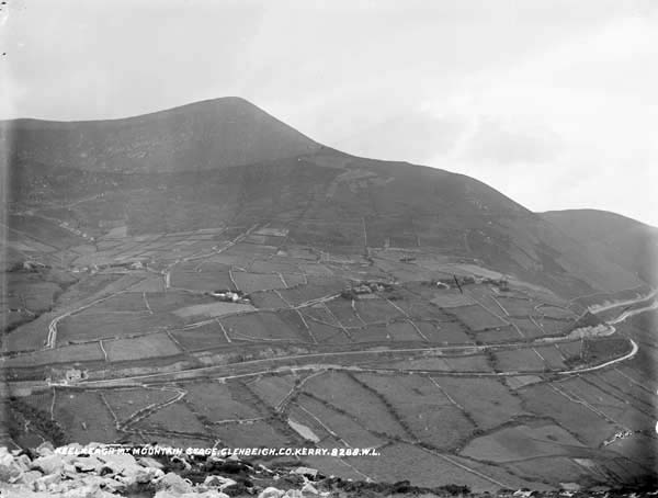 The terrain that faced the railway builders between Mountain Stage and Drung Hill