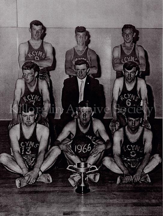 Basketball County Champions 1966