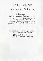 1901,Census,Killorglin,
