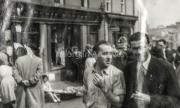1950 Patrick Houlihan and Kevin Sheehan. photographed at the square (Main St.) during Puck Fair