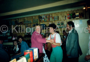 ?,?,?,Anne McHenry,Small Willie Mangan and wife, ?, ?, in O Neill's Bar, Killorglin.