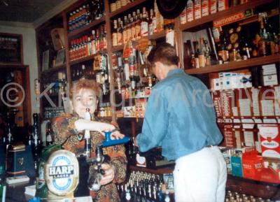 Rhetta & Billy O'Shea mid 90's. Killorglin Town Ref: F045