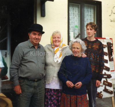 "September 1995 Patrick Houlihan, Hannah O'Connor at ""The Wild Flower of The Laune"""