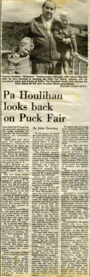 Puck Fair - Pa Houlihan
