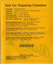 Puck Fair Organising Committee