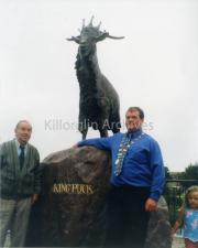 2001 Pa Houlihan, Paudie Cronin and Grainne Houlihan.