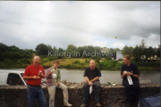 Billy Browne Cyril O'Neill & Terrence Houlihan Stop For Lunch Killorglin Town