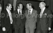 A  social with Gene Mangan talking to the Minister Desie O Malley