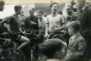 Gene Mangan, Tom Foley, ?,?,?, first cycle race in Killorglin from Beaufort Bridget to the Track Killorglin